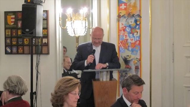 Direktor des Europa Instituts an der Universitaet Zuerich, Prof. Dr. Andreas Kellerhals